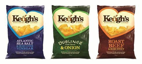 Keogh's Crisps bags