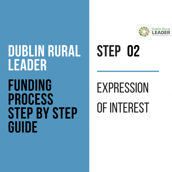 Dublin rural leader funding proces - step 2